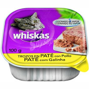 Whiskas Pollo-hígado Tarrina 100 g