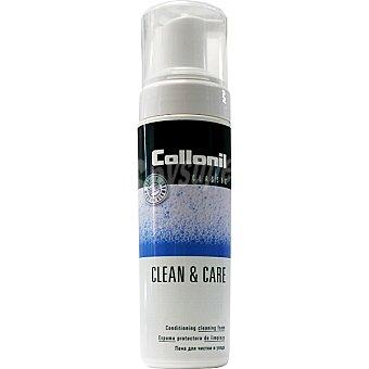 COLLONIL Clean & Care Limpiador en seco para piel ante y nobuck espuma protectora Envase 200 ml