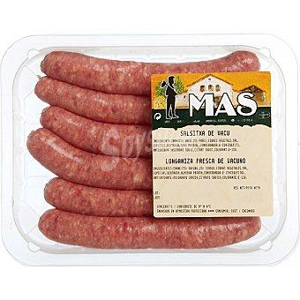 E.MAS Salchichas de ternera 6 unidades (300 g peso aprox.)