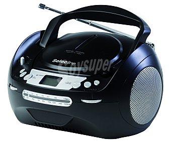 SELECLINE CT288 Radio CD (producto económico alcampo), multiformato, sintonizador de radio am/fm, conector USB