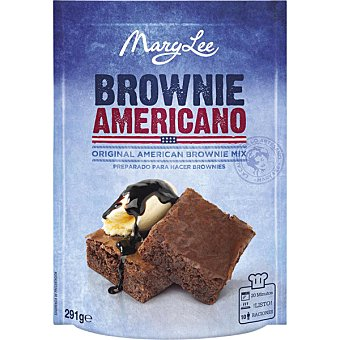 Mary Lee Preparado para cocinar brownies de chocolate Paquete 291 g