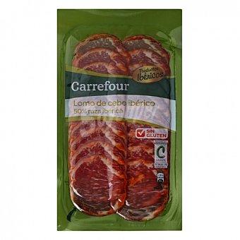 Carrefour Lomo Ibérico en lonchas sin gluten 100 G 100 g