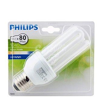Philips Bombilla larga duración 8A 18W E27 luz fría