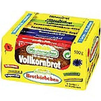 Mestemacher surtido de pan alemán paquete 500 g