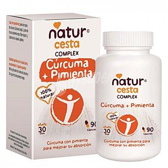 Naturcesta Cúrcuma y pimienta 90 cápsulas 90 ud