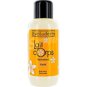 Evoluderm Loción corporal hidratante de Karité Frasco 500 ml