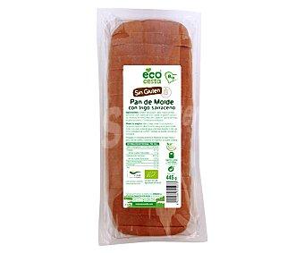 Ecocesta Pan de molde con trigo sarraceno sin gluten bio 445 g