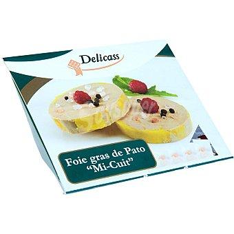 Delicass Foie gras de pato mi-cuit Estuche 120 g