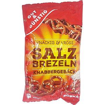 GUT & GUNSTIG Pretzels de sal Bolsa 250 g