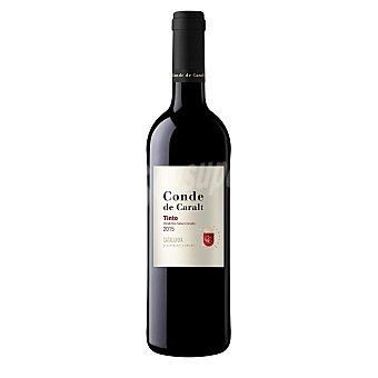 Conde de Caralt Vino tinto DO Cataluña botella 75 cl 75 cl