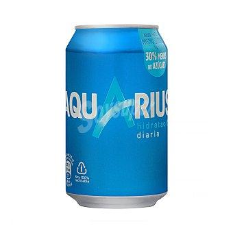 Aquarius Bebida isotónica de limón Lata 33 cl