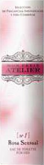 Mon Petit Atelier Eau toilette mujer rosa sensual vaporizador Botella 20 cc