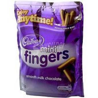 Cadbury Snack Bites Mini Fingers Paquete 125 g