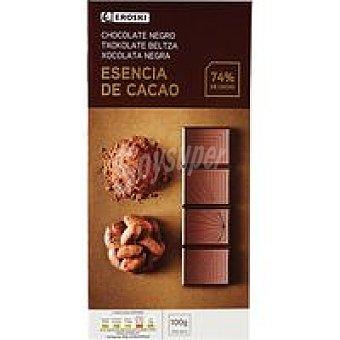 Eroski Chocolate negro 74% cacao 100 g