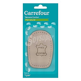 Carrefour Talonera piel natural 1 par.