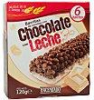 Barrita cereales chocolate leche (base blanca) Caja 6 u Hacendado