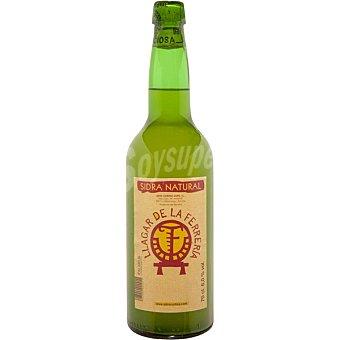 LLAGAR DE LA FERRERIA Sidra natural Botella 70 cl