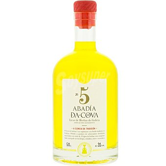 Abadía da Cova Licor de hierbas licorera Botella 50 cl