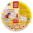 Pizza 4 quesos Envase 400 gr DIA