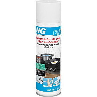 HG Eliminador de mal olor ambiental Spray de 400 ml