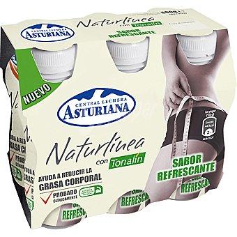 Central Lechera Asturiana Yogur líquido con tonalín Naturlínea Pack 6 unidades 100 g