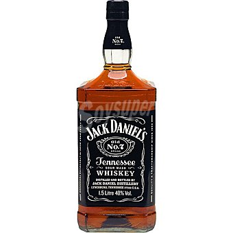 Jack Daniel's Old Nº 7 whiskey de Tennessee Botella 1,5 l