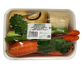 Preparado de Caldo hortaliza Bandeja de 1 kilogramo