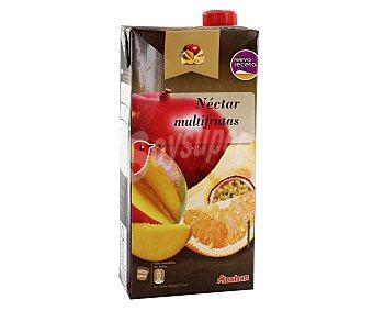 Auchan Néctar multifrutas Brick de 2 litros