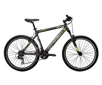 PRO TEAM Bicicleta de montaña de 27,5 pulgadas con cuadro de alumino, 21 velocidades y frenos v-brake 1 unidad