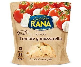 Rana Ravioli Tomate y mozzarella (pasta Fresca al huevo rellena de tomate y mozzarella) 250 Gramos