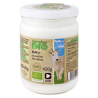Carrefour Bio Yogur kéfir leche de cabra 420 g