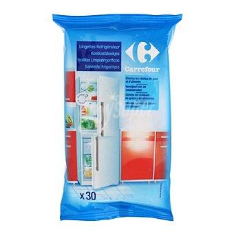 Carrefour Toallitas limpieza frigorífico 30 ud
