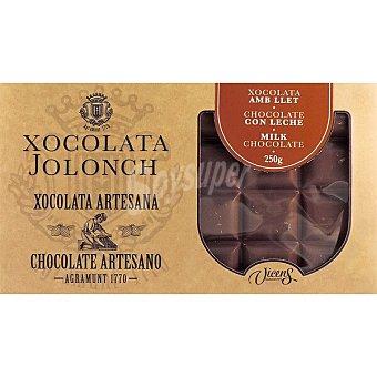 Jolonch Chocolate con leche artesano Tableta 250 g