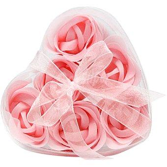 Myhome Ambientador con 6 rosas de jabón rosas estuche 1 unidad