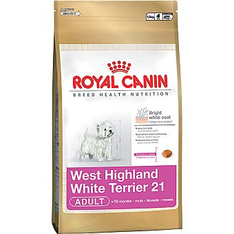 ROYAL CANIN ADULT West Highland Terrier alimento especial para perros desde los 10 meses bolsa 15 kg Bolsa 15 kg
