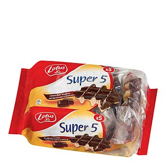 Lopez Market Gofres chocolate 5 unidades (287 g)