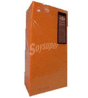 Carrefour 20 servilletas 38X38 cm 2 capas naranja carrefour