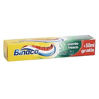Binaca Pasta dentífrica aliento fresco Tubo 100 ml