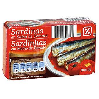 DIA Sardinas en tomate Lata 85 grs