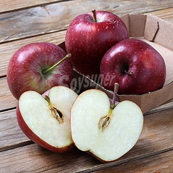 Manzana roja bio Bandeja de 4 piezas