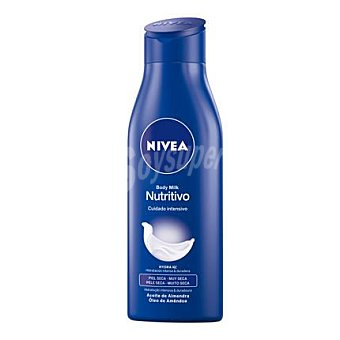 Nivea Body milk nutritivo para piel seca 250 ml