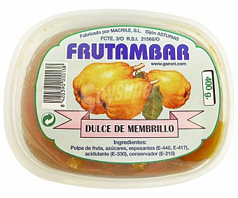 Frutambar Dulce de Membrillo 400 Gramos
