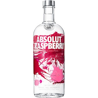 ABSOLUT vodka raspberri  botella 70 cl