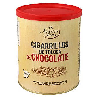 De nuestra tierra Cigarrillos de chocolate 200 g