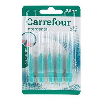 Carrefour Cepillo interdental ultra fino 5 ud