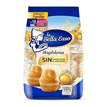 La Bella Easo Magdalenas redondas Paquete 526 g (18 u)