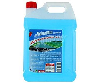 Auchan Liquido limpiaparabrisas con efecto anti-mosquitos y aroma a limón 5 litros
