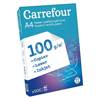 Carrefour Recambio Hojas 100gr A4 500 ud