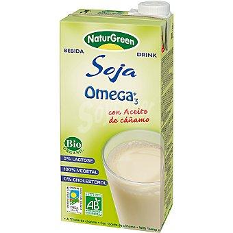 Naturgreen Bebida de soja omega 3 envase 1 l