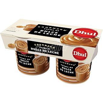 Dhul crema de dulce de leche pack 2 unidades 150 g